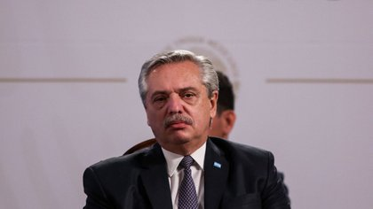 El presidente Alberto Fernández, durante su actividad oficial en México. FOTO: GALO CAÑAS/CUARTOSCURO.COM