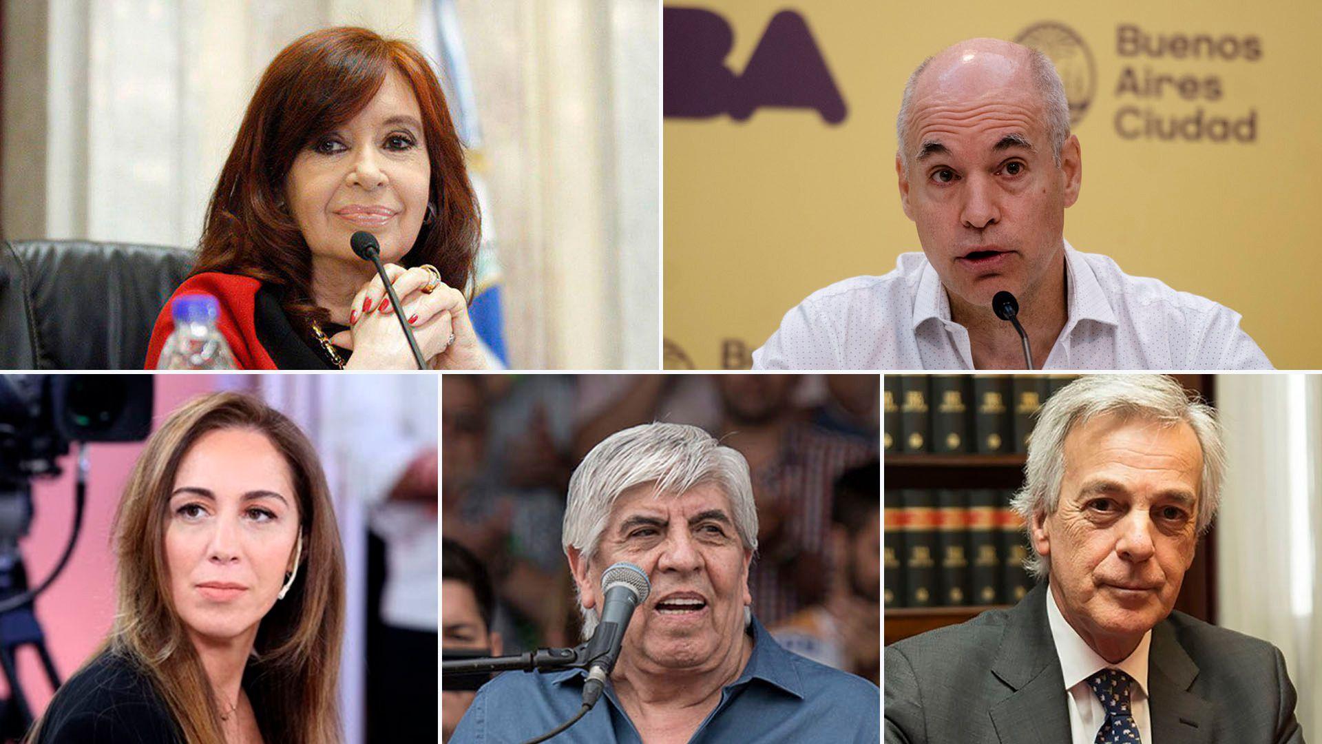 Partida - Cristina Kirchner, Rodríguez Larreta, María Eugenia Vidal, Hugo Moyano y Martín Irurzun