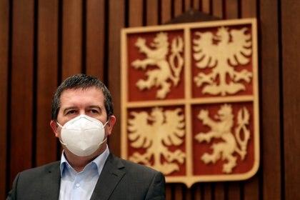 Jan Hamacek, el ministro de Relaciones Exteriores de República Checa (REUTERS/David W Cerny)