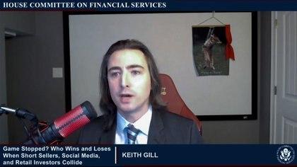 """Keith Gill, famoso entre los inversores en redes sociales como """"Roaring Kitty"""""""