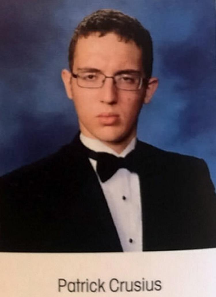 Crusius en una foto escolar (Foto: Planor Senior High School)