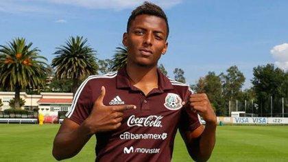 Maleck, jugador del Santos y selección mexicana (Foto: Especial)