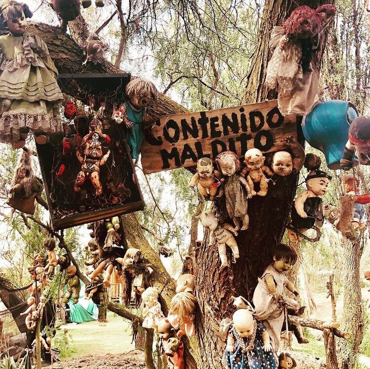 Conocida popularmente como la isla de las muñecas, son muchos los turistas ansiosos por conocer en primera persona una de las islas más tenebrosas de la ciudad de México (@theclipboardoffun)