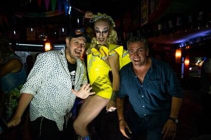 Cucho Parisi, Hollywood y Manuel Morello, tres estrellas de La Luna (Diego Medina)