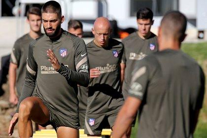 El Atlético Madrid debió suspender su concentración el pasado viernes por un caso positivo en el seno de la delegación (EFE/Atleticodemadrid.com)