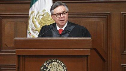 Eduardo Medina Mora fue presidente de la Segunda Sala de la Suprema Corte de Justicia de la Nación (Foto: ISAAC ESQUIVEL /CUARTOSCURO)
