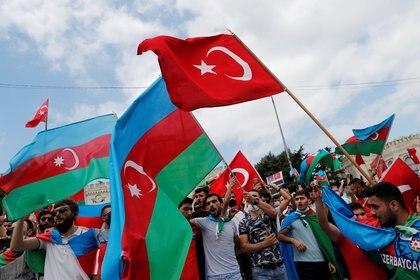 Esther Mkrtumyan denunció las actitudes belicistas y beligerantes de Azerbaiyán y Turquía contra la población de Nogorno Karabaj (REUTERS/Murad Sezer)