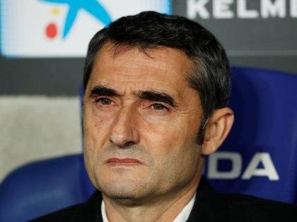 Ernesto Valverde dejó de ser el entrenador del Barcelona (Reuters)