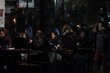 Los bares estuvieron llenos el fin de semana en la Ciudad