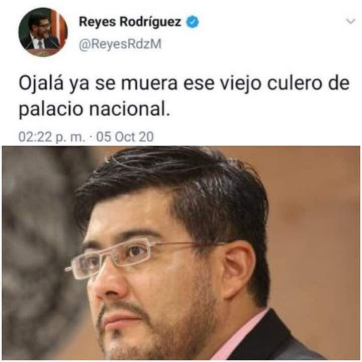 El tuit en el que el magistrado ofende al presidente Andrés Manuel López Obrador es falso (Foto: Twitter / @Javier_Hidalgo)
