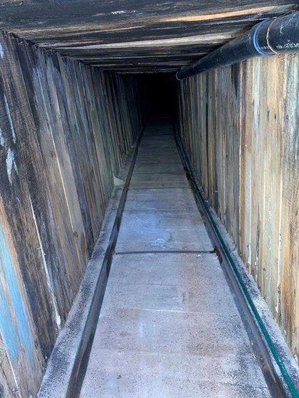 """Descubren en Arizona el túnel """"más sofisticado en la historia"""" de EE.UU."""