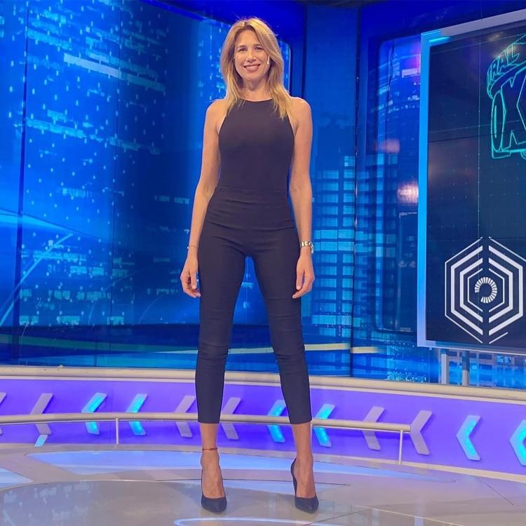 Alina Moine está nominada como estilo de periodista deportivo femenina