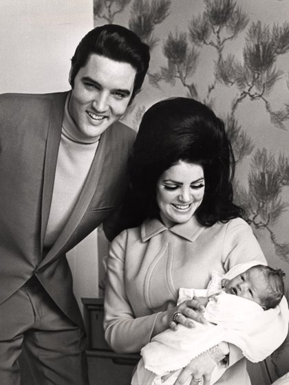Lisa Marie Presley nació en 1968, hija de Elvis y de Priscilla