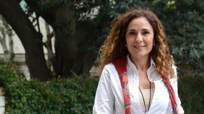 Cintia Jaime es argentina, vive en Suiza y pertenece a la fundación ES VICIS. Foto: Gentileza ES VICIS.