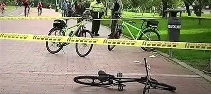 Así quedó el lugar luego de que las autoridades confirmaron la muerte del joven / (City TV).