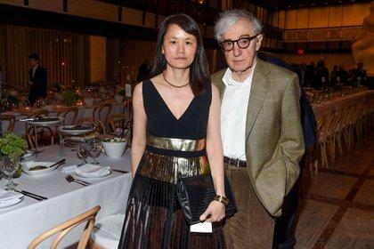Soon-Yi Previn y Woody Allen (Foto: Shutterstock)