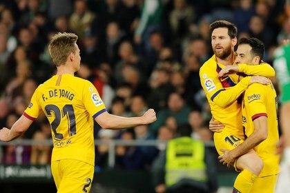 El Barcelona volvió a ganar tras la eliminación en la Copa del Rey (Reuters)