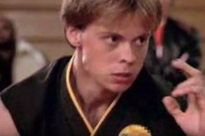 """El actor es mejor conocido por su papel como """"Tommy"""" en el filme de artes marciales """"Karate Kid"""" (Foto: Captura de pantalla)"""
