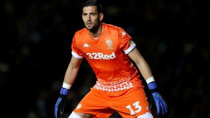 El español Kiko Casilla es el actual arquero del Leeds United (Reuters)