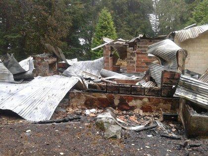 Una propiedad atacada en Villa Mascardi