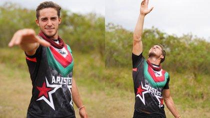 Él es Aristeo Cázares (Foto: Twitter /@ExatlonMx)