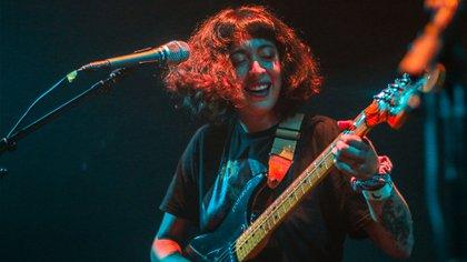 Carla Rivarola, cantante y compositora mexicana independiente (Foto: Infobae/Gustavo Azem)