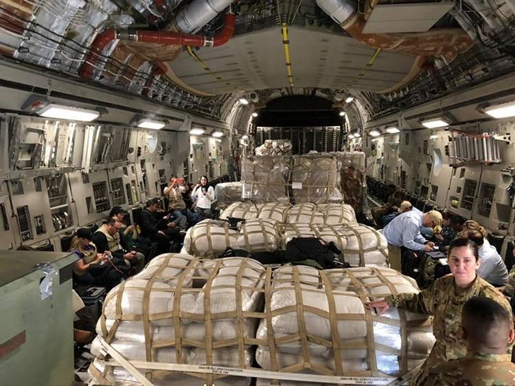 Guaidó aclaró que el bloqueo de EEUU no frenará la ayuda humanitaria