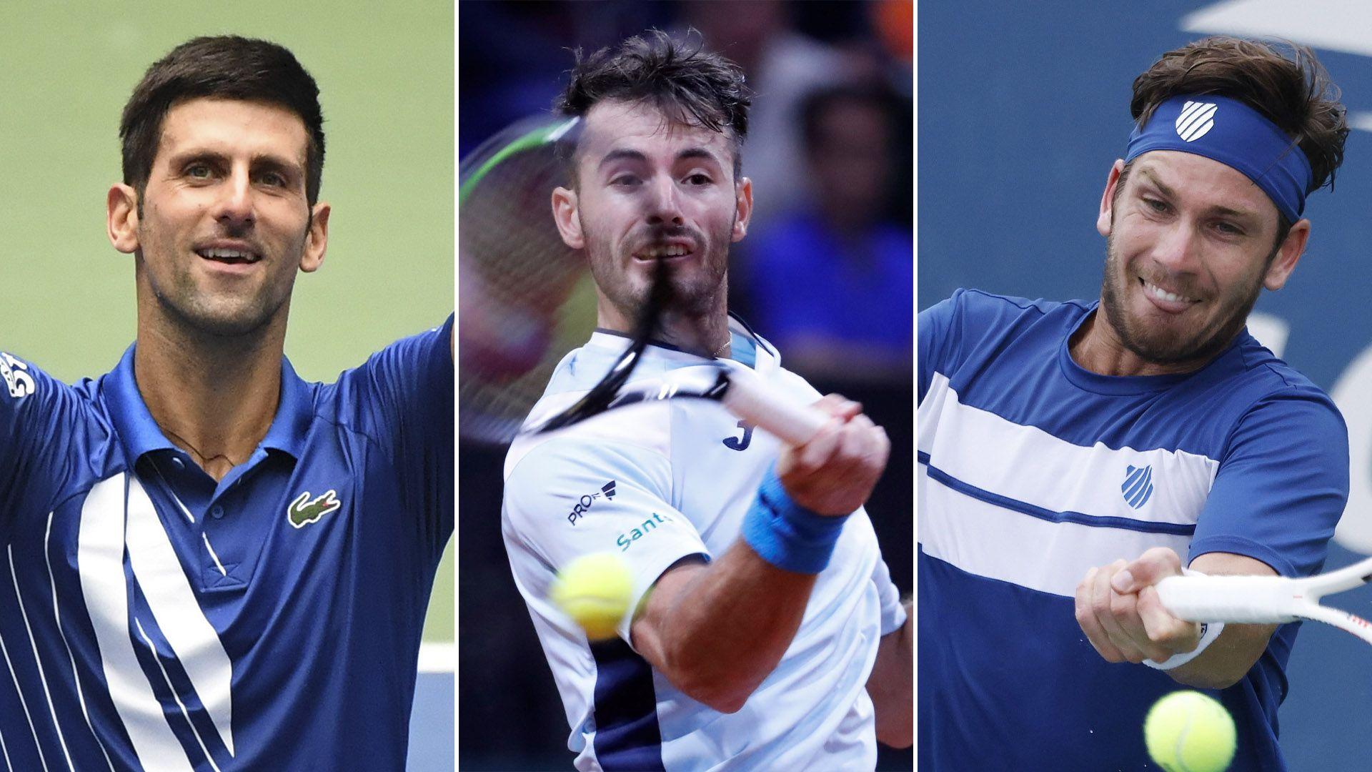 Djokovic, Lóndero y Coria