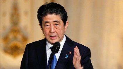 El primer ministro japonés Shinzo Abe (Reuters)