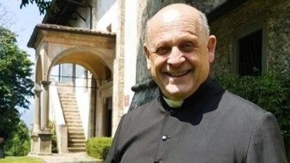 Don Giuseppe Berardelli murió el 15 de marzo en un hospital de Lovere (Foto: Araberara)
