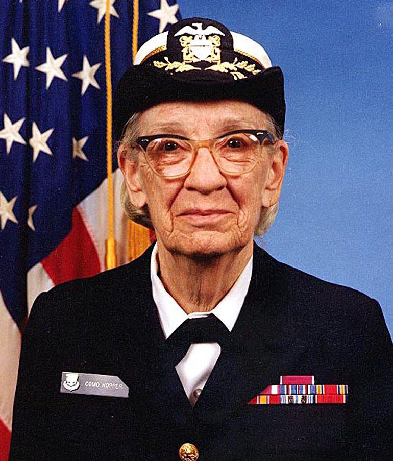Hopper continuó en la Armada hasta su retiro en 1986.