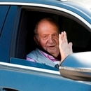 En la imagen, el rey emérito de España, Juan Carlos I. EFE/David Fernández/Archivo