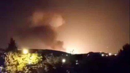 Informes de una explosión inusual al este de Teherán — Irán