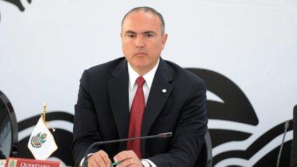 """El ministro de Agricultura, José Eduardo Calzada Rovirasa, es otro de los altos funcionarios que """"El Chapo"""" podría mencionar en Estados Unidos"""