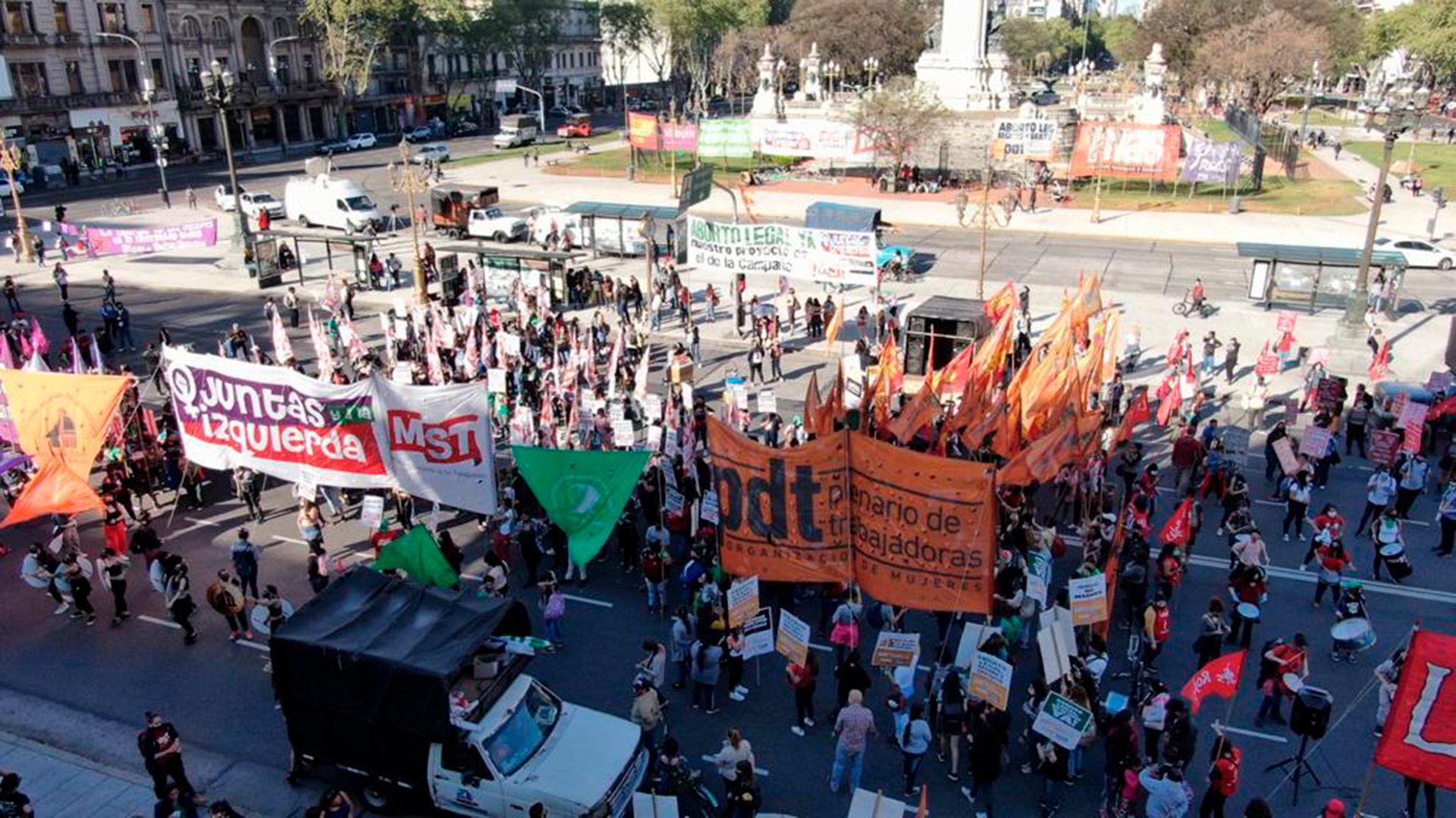 marcha 28S - aborto - congreso