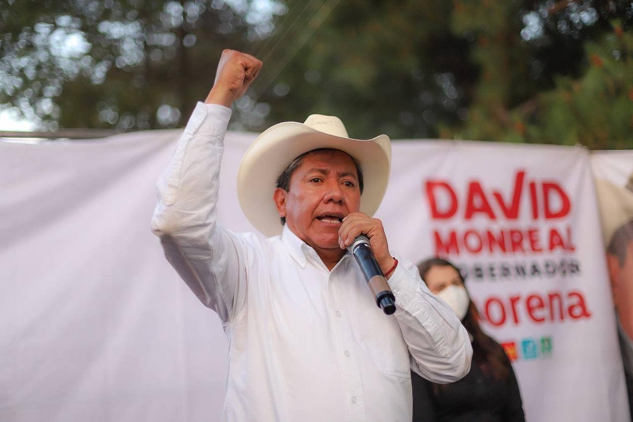 Zacatecas: David Monreal Ávila