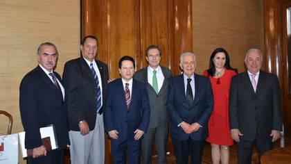 La reunión dejó con buen ánimo a los encargados del deporte en México (Foto: Cortesía Daniel Aceves Villagrán)