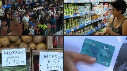 La tarjeta AlimentAr que se entrega a los sectores más necesitados se destina para la compra de alimentos