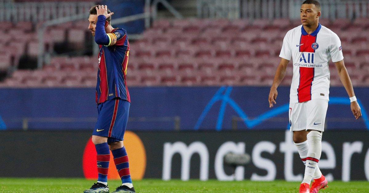 Los gestos de Messi en la estrepitosa caída del Barcelona: con quién cambió la camiseta - Infobae