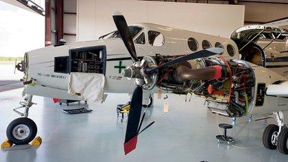 La primera aeronave destinada a la Fuerza Aérea Argentina, comienza a ser reacondicionada en USA