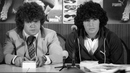 Jorge Cyterszpiler acompañó a Maradona durante los comienzos de su carrera