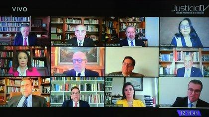 Las sesiones del Pleno se llevarán a cabo vía remota durante todo junio (Foto: SCJN)