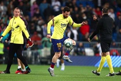 Leo Messi es titular en Barcelona (Reuters)