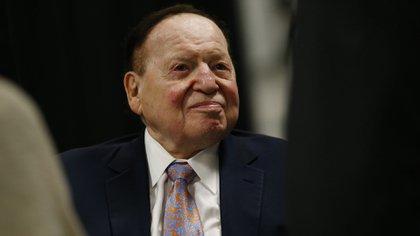 Sheldon Adelson, el magnate estadounidense del juego, es el séptimo multimillonario que más pérdidas padeció durante 2020. Andrew Harrer/Bloomberg