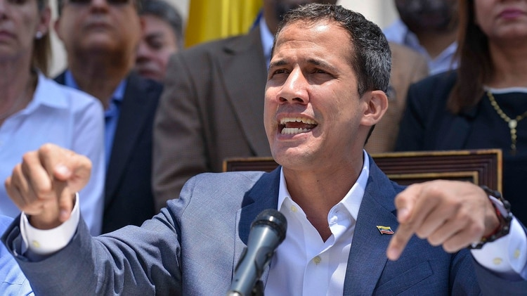 Juan Guaidó (Photo by Matias DELACROIX / AFP)