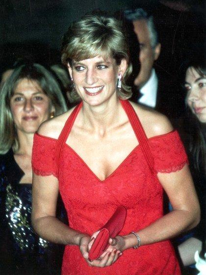 Diana, espléndida durante su visita a la Argentina de 1995. Shutterstock