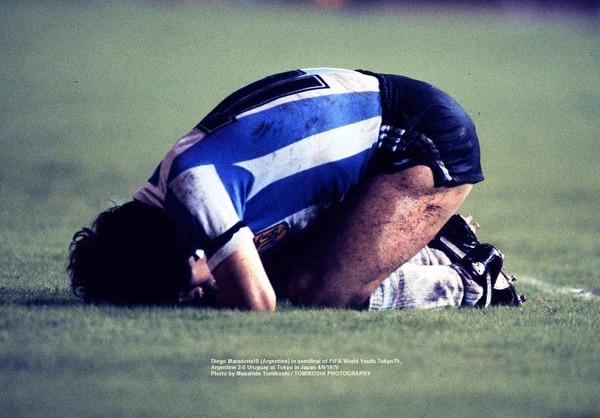 El 10 se lamenta una ocasión perdida en el Mundial juvenil de 1979