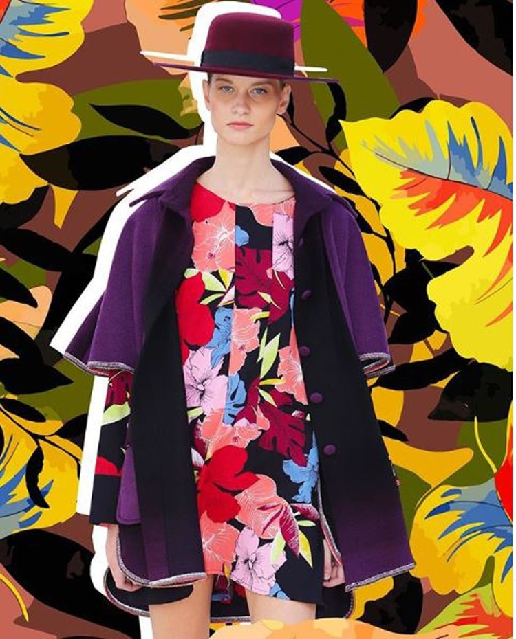 En violeta, un color que nutrió la colección California de Benito Fernández (Benito)