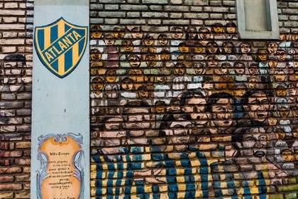 Mural de Atlanta (Franco Fafasuli)
