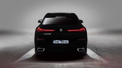 La tercera generación de su SUV X6, se estrenará en septiembre en el Salón de Frankfurt